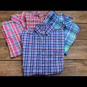 Ralph Lauren collard shirt bundle